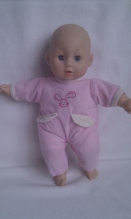 Adorable My 1st Babbling & Crying Baby Soft Body Plush Doll